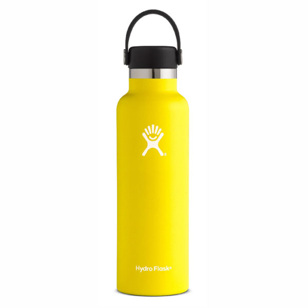 Hydro Flask Lemon Standard Mouth
