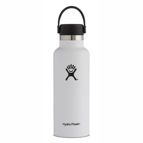 Hydro Flask White Standard Mouth